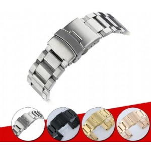 3 Beads Stainless Steel Watch Band for Apple Watch IWatch Strap