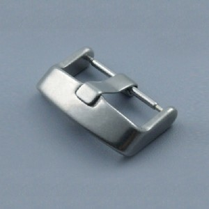 316L Stainless Steel Pin Watch Buckle 16 20 Watch Clasp Brushed/Polished For Wristwatch