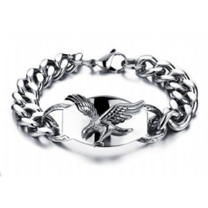 Eagle Design Man Bracelets Fashion Stainless Steel Link Chain