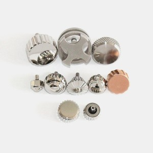 High Quality Screw Watch Crown Watch Heads With Crown Tube Gaskets For Watchmaker