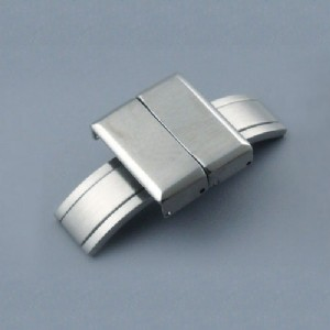 High Quality Stainless Steel Polished 20mm Butterfly Watch Buckle Folding Clasp ver hebilla