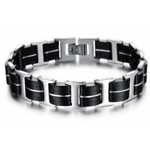 Men′s Motor Bike Chain Motorcyle Chain Bracelet Bangles