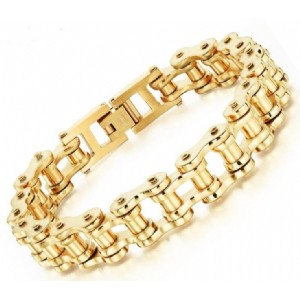New Fashion Men Classic Bicycle Chain Bracelet