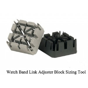 Watch Band Link Adjuster Block Sizing Tool
