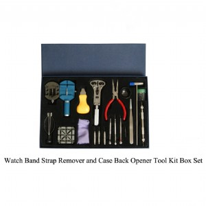 Watch Band Strap Remover and Case Back Opener Tool Kit Box Set